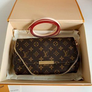 🦁Louis Vuitton🐯 Favorite old pattern chain shoulder bag